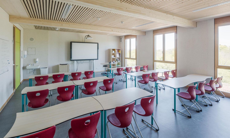 Mobile Schule - IGS in Trier - Klassenzimmer