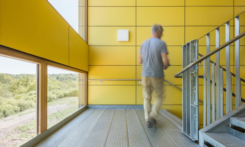 Mobile Schule - IGS in Trier - Treppen