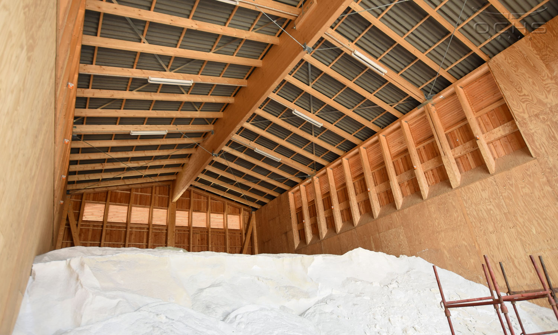 Salzlagerhalle Simmern Innenansicht