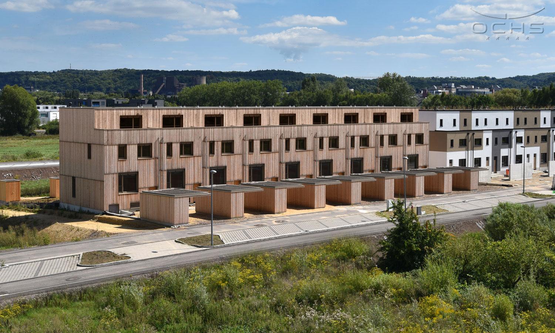 Quartier Nonnewisen - 9 Reihenhäuser