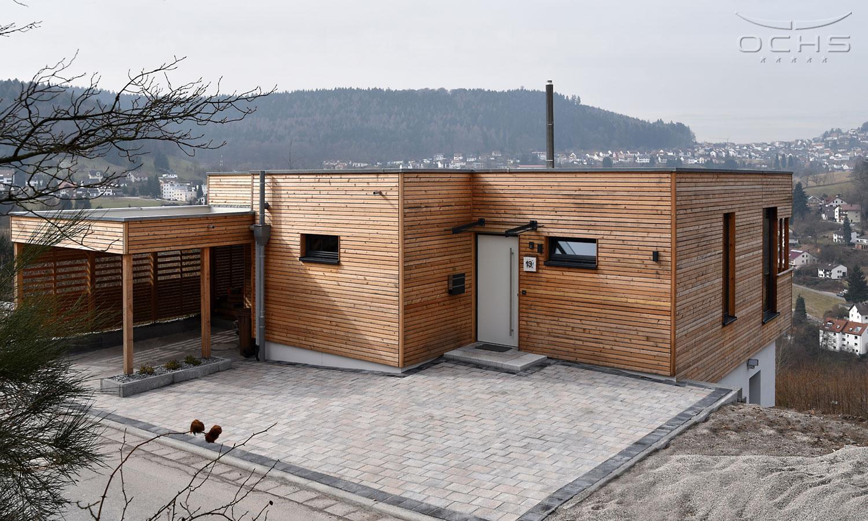 Wohnhaus in Wilhelmsfeld Ansicht straßenseitig