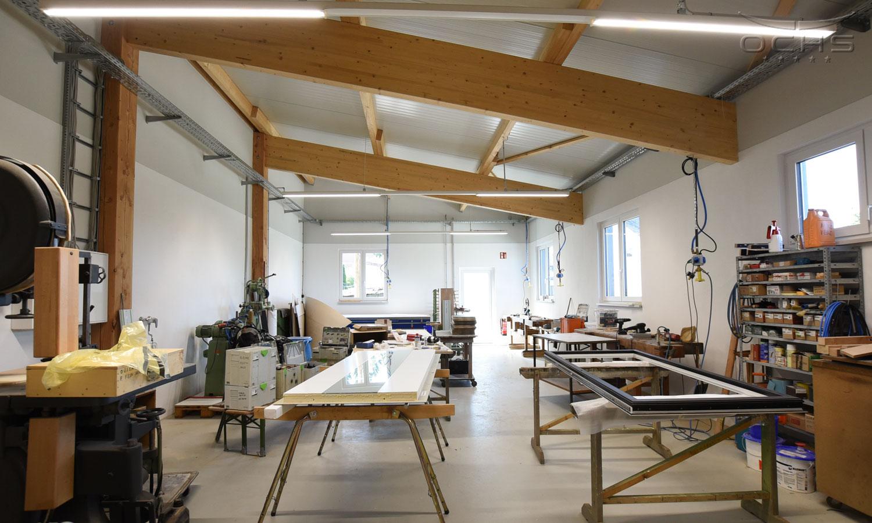 Schabbach Fensterbau in Morbach-Hundheim Werkstatt