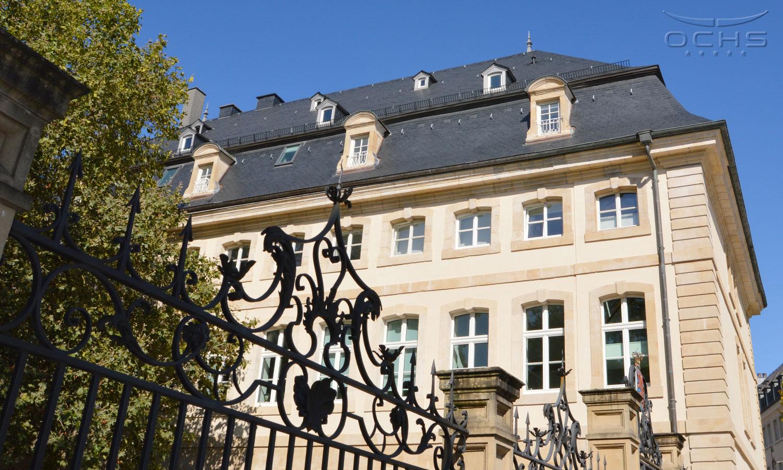 Gebäude Saint-Maximin für die Bedürfnisse des Staatsministeriums in Luxemburg