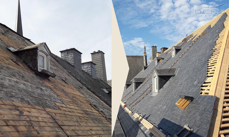 Dachsanierung und Dacheindeckung Hotel St. Maximin